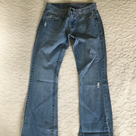 American Eagle Outfitters Denim - AMERICAN EAGLE Hipster Skinny Flare Blur Jeans 0R